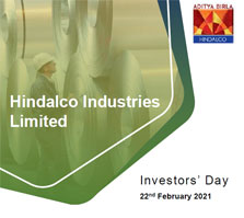 Hindalco Industries Limited - Investors' Day - 22nd February 2021